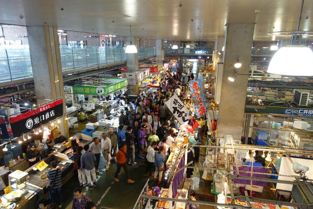 唐戸市場 市場風景