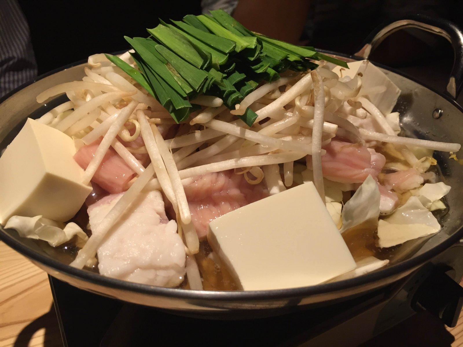 彩翔 irotoのホルモン鍋